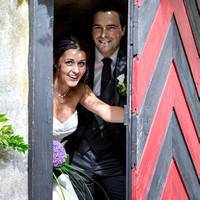 Brautpaar in der Schweiz